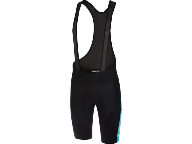 Castelli Velocissimo IV Bib Shorts Heren blauw/zwart